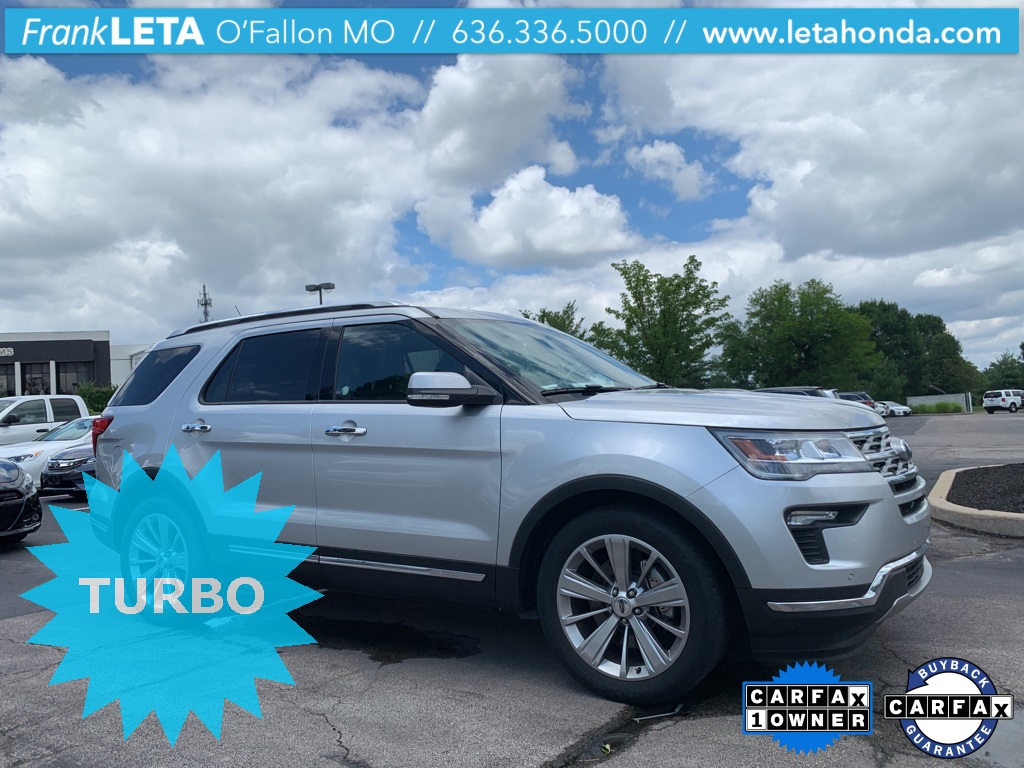 Certified Pre-Owned 2018 Ford Explorer Limited