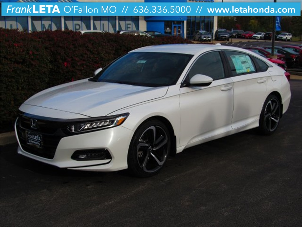 New 2018 Honda Accord Sport 4d Sedan For Sale St Louis