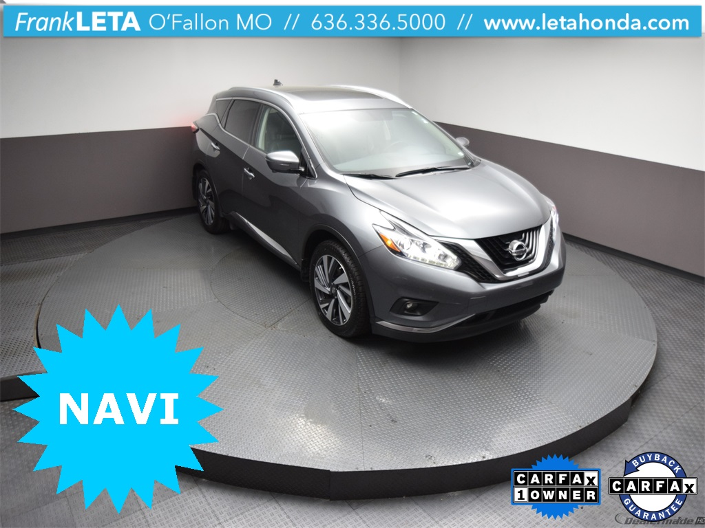 Certified Pre-Owned 2018 Nissan Murano Platinum