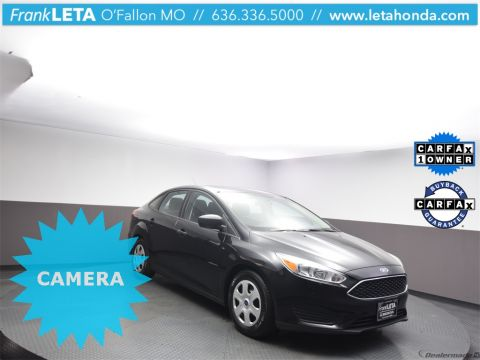 Certified Pre-Owned 2018 Ford Focus S